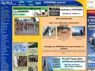 Thumbnail do site Inema - Seu Site de Aventuras