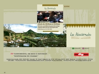 Thumbnail do site Estalagem e Restaurante La Hacienda