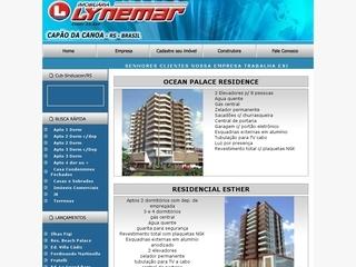 Thumbnail do site Imobiliária Lynemar