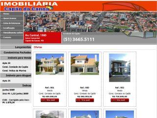 Thumbnail do site Imobiliaria Capão da Canoa