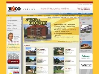 Thumbnail do site Xico Imóveis