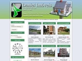 Thumbnail do site Daniel Imóveis