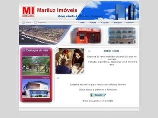 Thumbnail do site Alla Imóveis