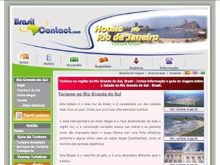 Thumbnail do site Turismo em de Rio Grande do Sul - Brasil Contact