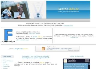 Thumbnail do site Consultoria Gustavo Rocha