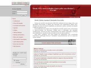 Thumbnail do site Woida, Forbrig, Magnago & Advogados Associados