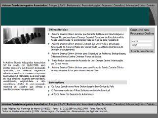 Thumbnail do site Adaime Duarte Advogados Associados