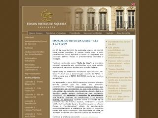 Thumbnail do site Édison Freitas de Siqueira Advogados Associados