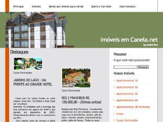 Thumbnail do site Imóveis em Canela
