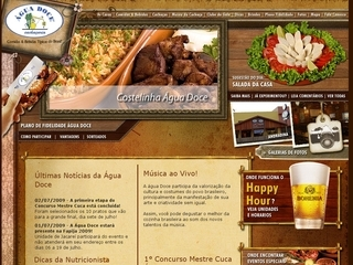 Thumbnail do site Água Doce Cachaçaria