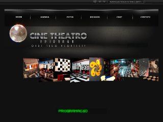 Thumbnail do site Cine-Theatro Ipiranga