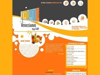 Thumbnail do site Venezianos Pub Café