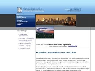 Thumbnail do site Advogados Porto & Maldonado - Direito Securitário