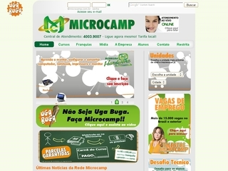 Thumbnail do site Microcamp Escola de Informática