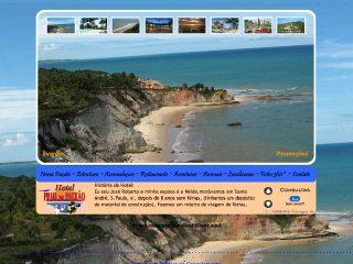 Thumbnail do site Hotel e Restaurante Praia da Paixão