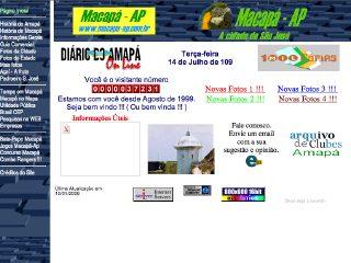 Thumbnail do site Cidade de Macapá