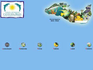 Thumbnail do site Pousada Canto da Praia