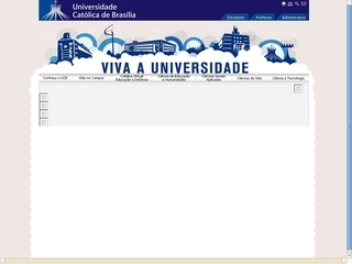 Thumbnail do site UCB - Universidade Católica de Brasília