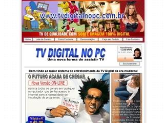 Thumbnail do site Tv Digital no Pc