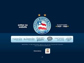 Thumbnail do site Esporte Club Bahia