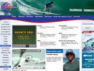 Thumbnail do site F.B.S. - Federação Bahiana de Surf