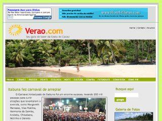 Thumbnail do site Verão.com