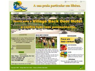 Thumbnail do site Village Back Door Hotel
