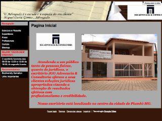 Thumbnail do site JGG Advocacia & Consultoria