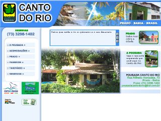 Thumbnail do site Pousada Canto do Rio