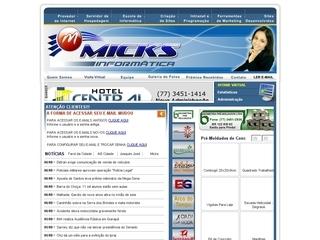 Thumbnail do site Micks Informática