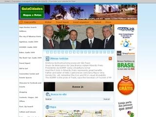 Thumbnail do site Ribeirão Preto e mais 42 destinos turísticos