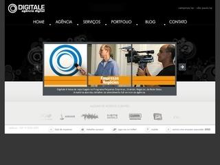 Thumbnail do site Digitale - agência digital