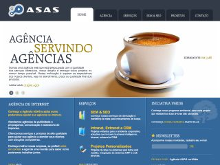 Thumbnail do site Agência ASAS