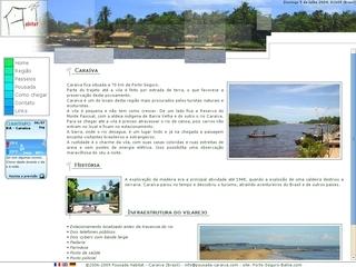 Thumbnail do site Pousada Habitat (Caraíva)