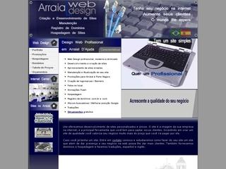 Thumbnail do site Arraial Web Design
