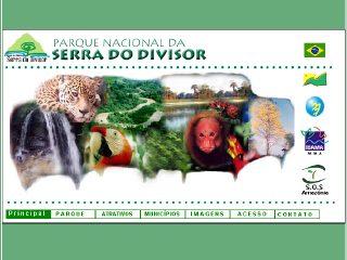 Thumbnail do site Parque Nacional da Serra do Divisor