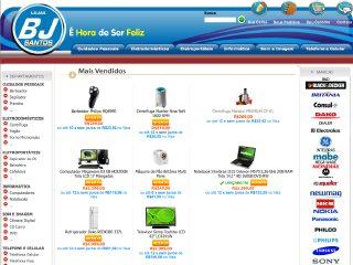 Thumbnail do site Bj Santos - É Hora de Ser Feliz