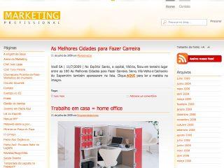 Thumbnail do site Marketing Profissional
