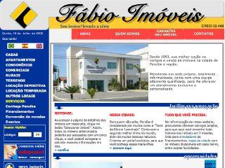 Thumbnail do site Fábio Imóveis