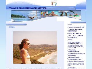 Thumbnail do site Praia do Rosa - Imobiliária Virtual