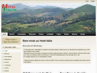 Thumbnail do site Hotel Itália