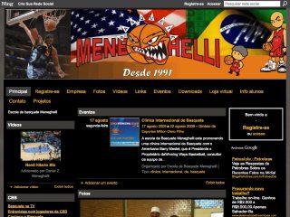Thumbnail do site Escola de Basquete Meneghelli