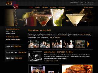 Thumbnail do site Jazz Café