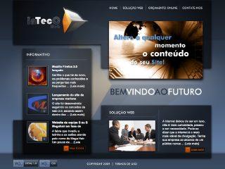 Thumbnail do site InTecC - Soluções digitais