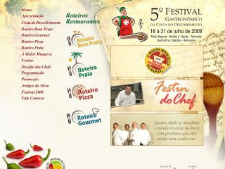 Thumbnail do site Festival Gastronômico da Costa do Descobrimento