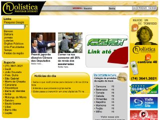 Thumbnail do site Holistica - Provedor internet