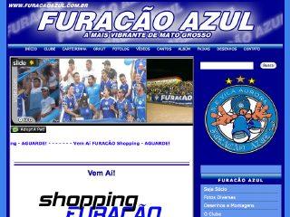 Thumbnail do site Torcida Furacão Azul
