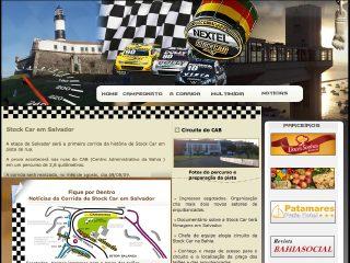 Thumbnail do site Stock car em Salvador